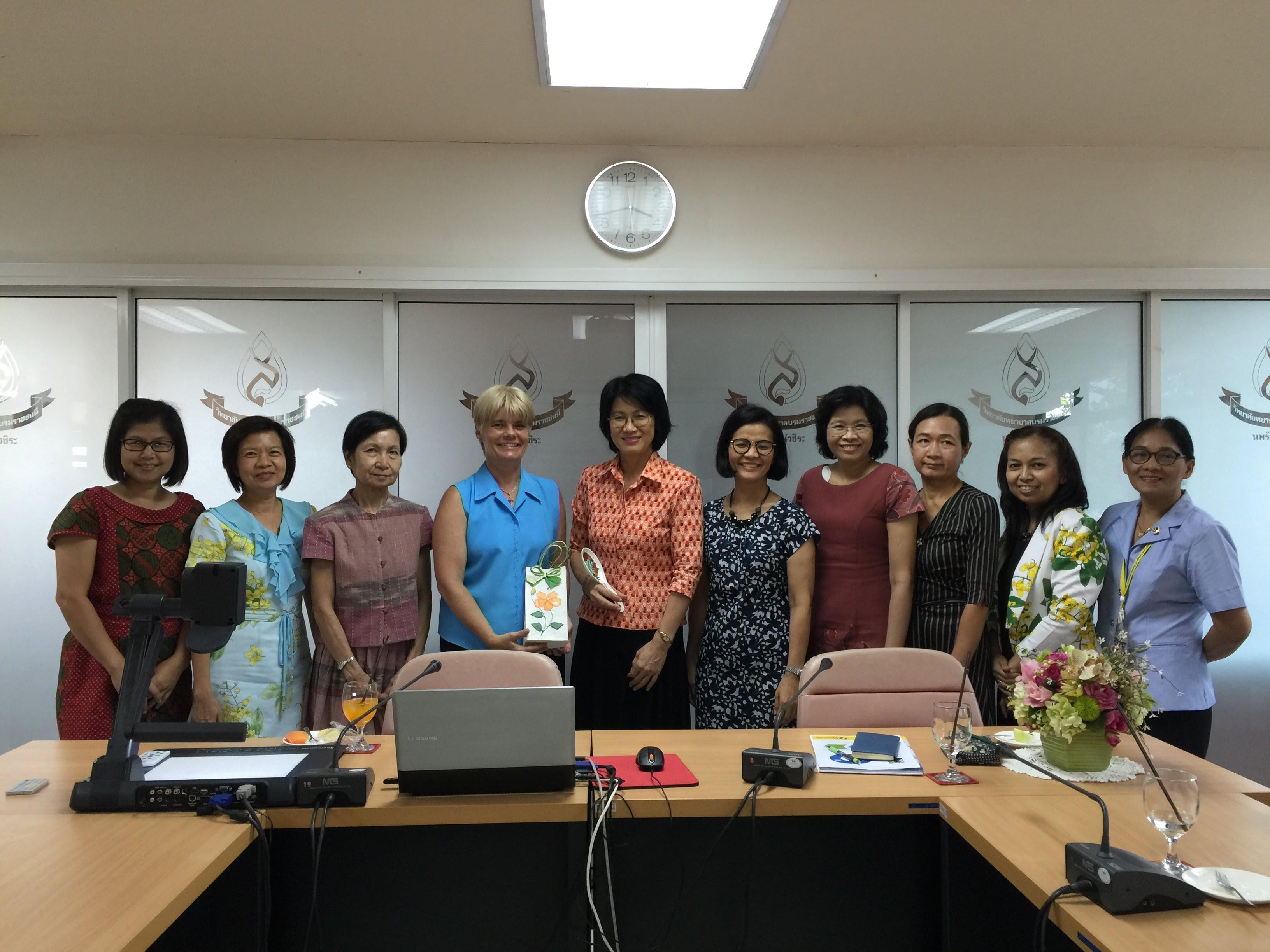 ประชุมความร่วมมือด้านการวิจัยกับ สถาบัน Wintec, New Zealand